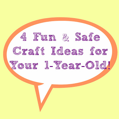 4 fun and safe crafts for 1 year olds. Black Bedroom Furniture Sets. Home Design Ideas