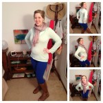 What I Wore Sunday & Gospel Reflection 2.17.13