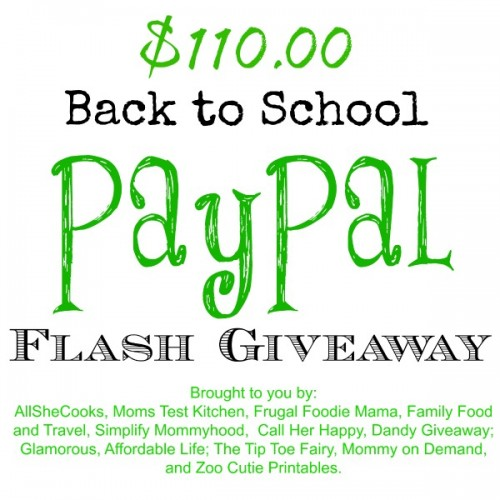Paypal Flash giveaway