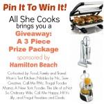 Hamilton Beach Giveaway – woop!