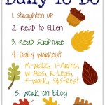 A Day in the Life of Ellen (and Her Mommy)
