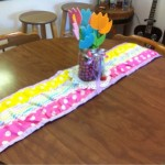 Ruffled Table-Runner Tutorial