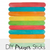 This is one of those super easy DIY crafts or DIY gifts! And, it's a great way to incorporate all of those prayers for healing, prayers for kids, prayers for husbands and prayers for families into your daily routine. And, with how simple this is, I bet you could make it today and jump start your prayer life immediately.