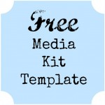 Attracting Sponsors: A Free Media Kit Template