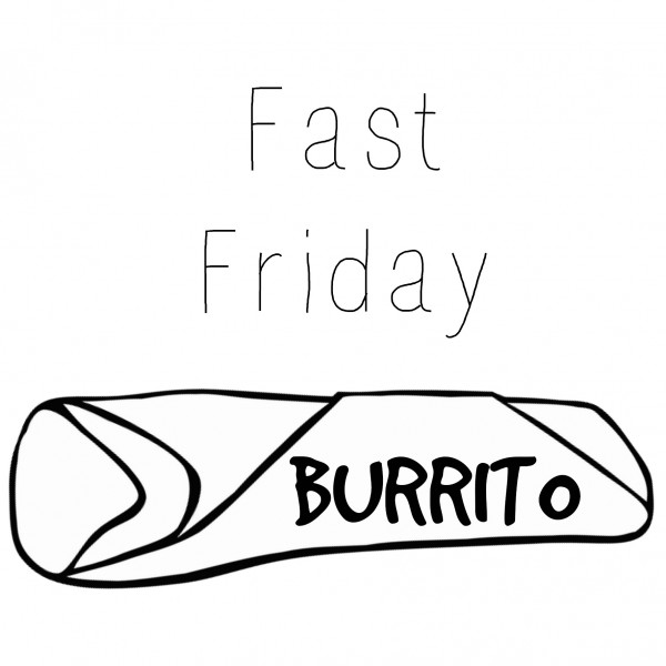 fast friday burrito meal idea