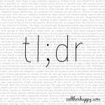 tl;dr November