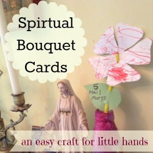 spiritual boquet button