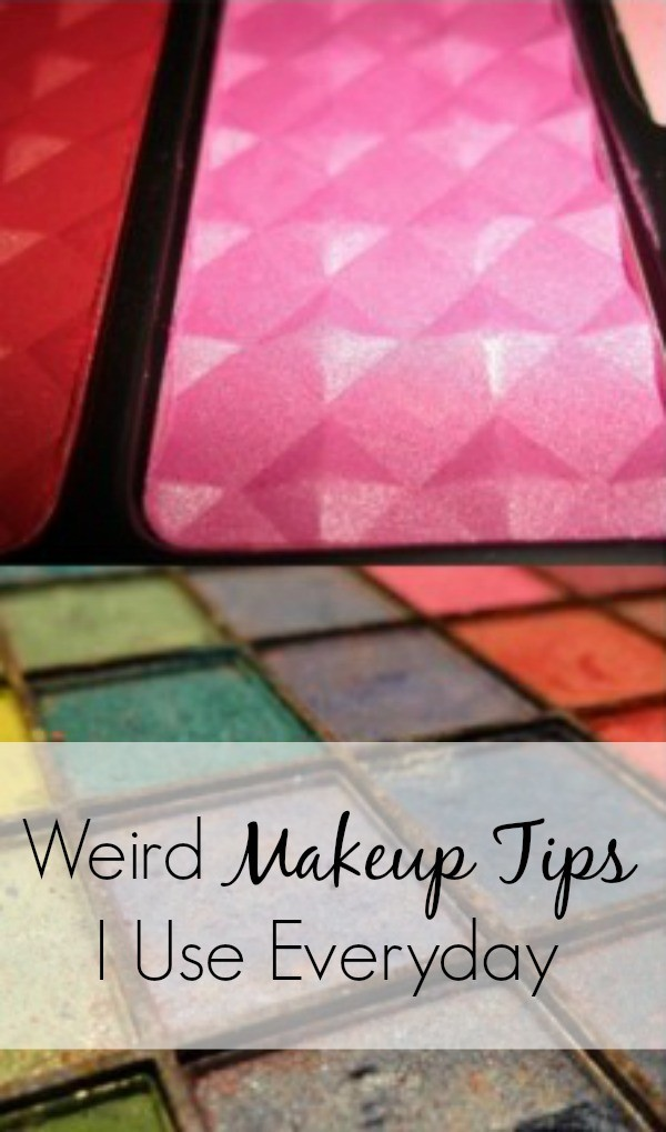 I use these makeup ideas and tricks every.single.day. It's like life hacks for makeup. My favorite is the eye makeup removal trick. Makes nights so much easier.