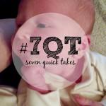 7QT: I should have seen the diarrhea coming