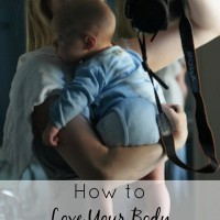 How to Love Your Body Right Now: After pregnancy many women find themselves with a new body. You don't need to focus ALL of your energy on fitness and healthy eating. Those things are great, but learn how Nell figured out how to love her new post-baby body where it is right now - during the postpartum belly phase.