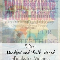 5 best ebooks for moms looking for some inspiration. Perfect gifts for moms with faith in God. Or, treat yourself to a mini retreat with these books worth reading. All books are authored by bloggers who are moms just like me and you. I am most excited to read the work from home ideas book! | mom gifts | inspirational quotes | mindfulness quotes | faithful quotes |