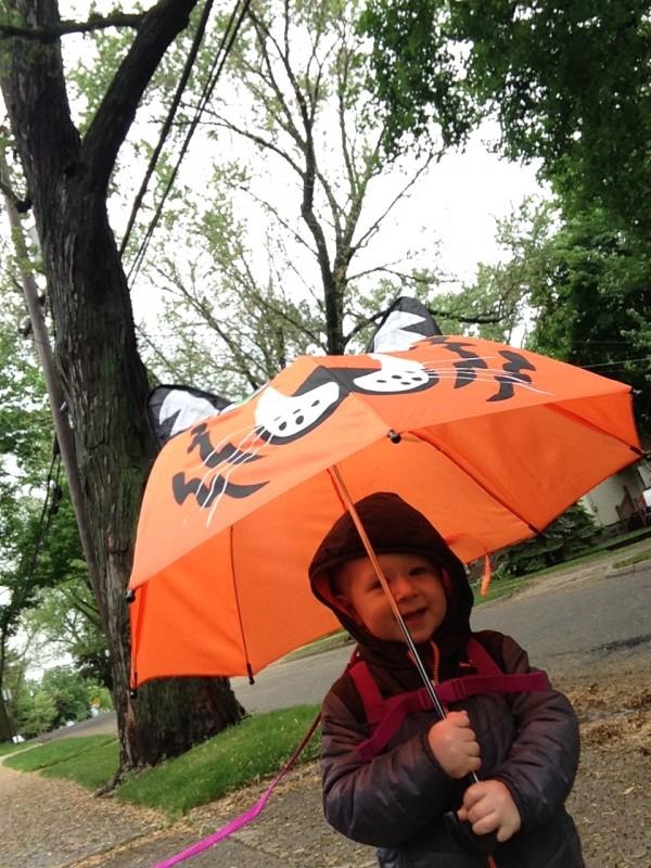 And umbrellas