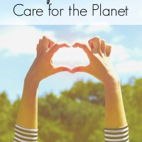 Make everyday Earth Day by incorporating into your daily life these 5 simple ways to care for the planet. The laundry tip is my favorite because it help the earth AND saves me time in the laundry room. | environment | environmental education