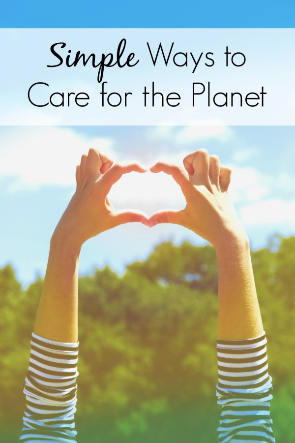 Make everyday Earth Day by incorporating into your daily life these 5 simple ways to care for the planet. The laundry tip is my favorite because it helps the earth AND saves me time in the laundry room. | environment | environmental education